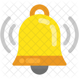 Ringing Bell Icon Of Flat Style Available In Svg Png Eps Ai Icon Fonts