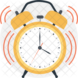 Ringing clock Icon