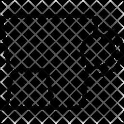 Risotto Line Icon