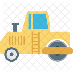 Road Bulldozer Icon