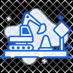 Road Construction Icon
