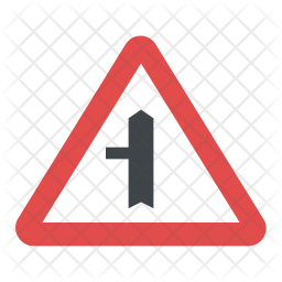 Road Direction Alerts Icon