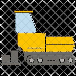 Road Paver Icon