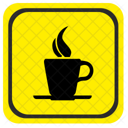 Road, Pointer, Coffee, Drink, Place, Cafe Icon