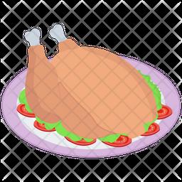 Roasted Chicken Platter Icon