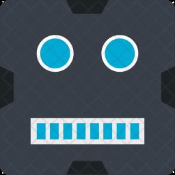 Robot, Halloween, Spooky, Seasonal Icon