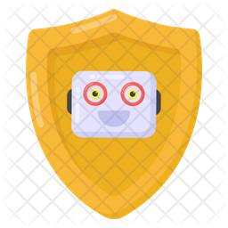 Robot Security Icon
