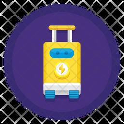 Robot Suitcase Icon