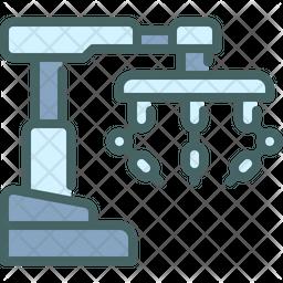 Robot surgery Icon