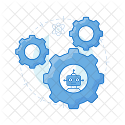Robotic Automation Icon