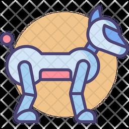 Robotic Dog Icon