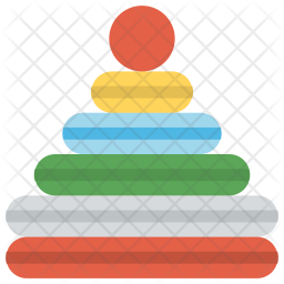 Rock-a-Stack Icon