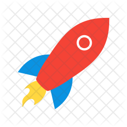 Rocket Icon Of Flat Style Available In Svg Png Eps Ai Icon Fonts