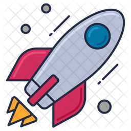 Rocket Icon Of Colored Outline Style Available In Svg Png Eps Ai Icon Fonts