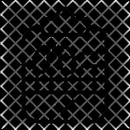 Roentgen Line Icon