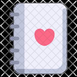 Romantic Book Icon
