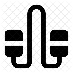 Rope Glyph Icon