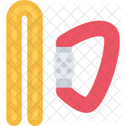 Rope Carabiner Icon