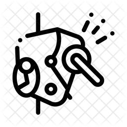 Rope Holder Lock Icon
