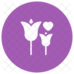Rose Glyph Icon