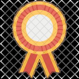 Rosette Ribbon Icon