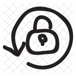 Rotation lock Icon