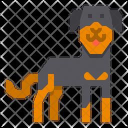 Rottweiler Dog Icon