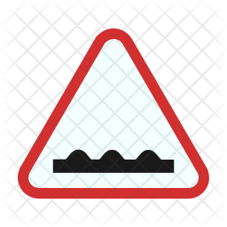 Rough road ahead Icon