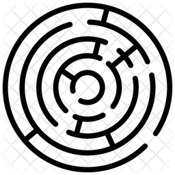 Round Maze Icon