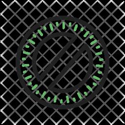 Round scale Icon