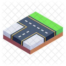 Route Intersection Icon