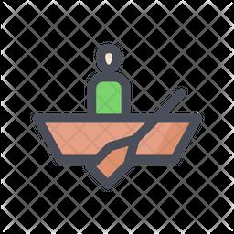 Row Boat Icon