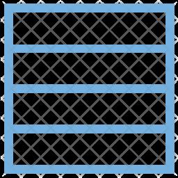 Rows Colored Icon