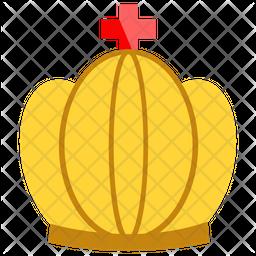 Royal Crown Flat Icon