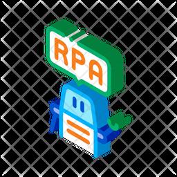 Rpa Robot Icon