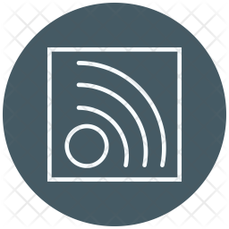 Rss, Feed, Rss-feed, Wifi-signals Icon