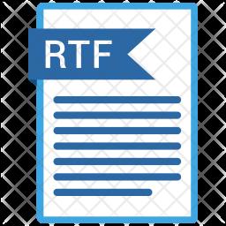 Rtf file Icon
