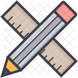 Ruler and Pencil Icon
