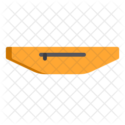 Running bag Icon