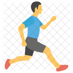Running Exercise Icon