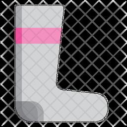 Running Socks Icon