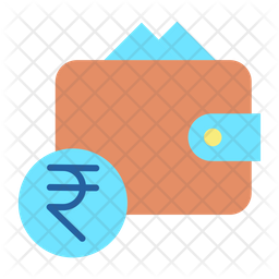 Rupee Wallet Icon