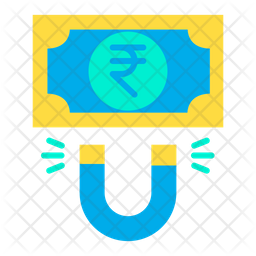 Rupees attract Icon