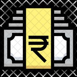 Rupees Bundles Icon
