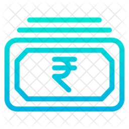 Rupees Cash Icon