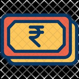 Rupees Cash Icon