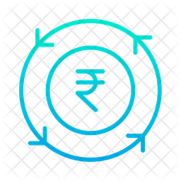 Rupees Chargeback Icon