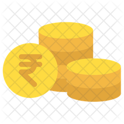 Rupees Coins Icon