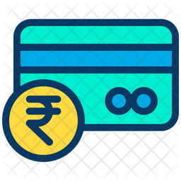 Rupees Credit Card Icon