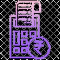 Rupees E Bill Icon